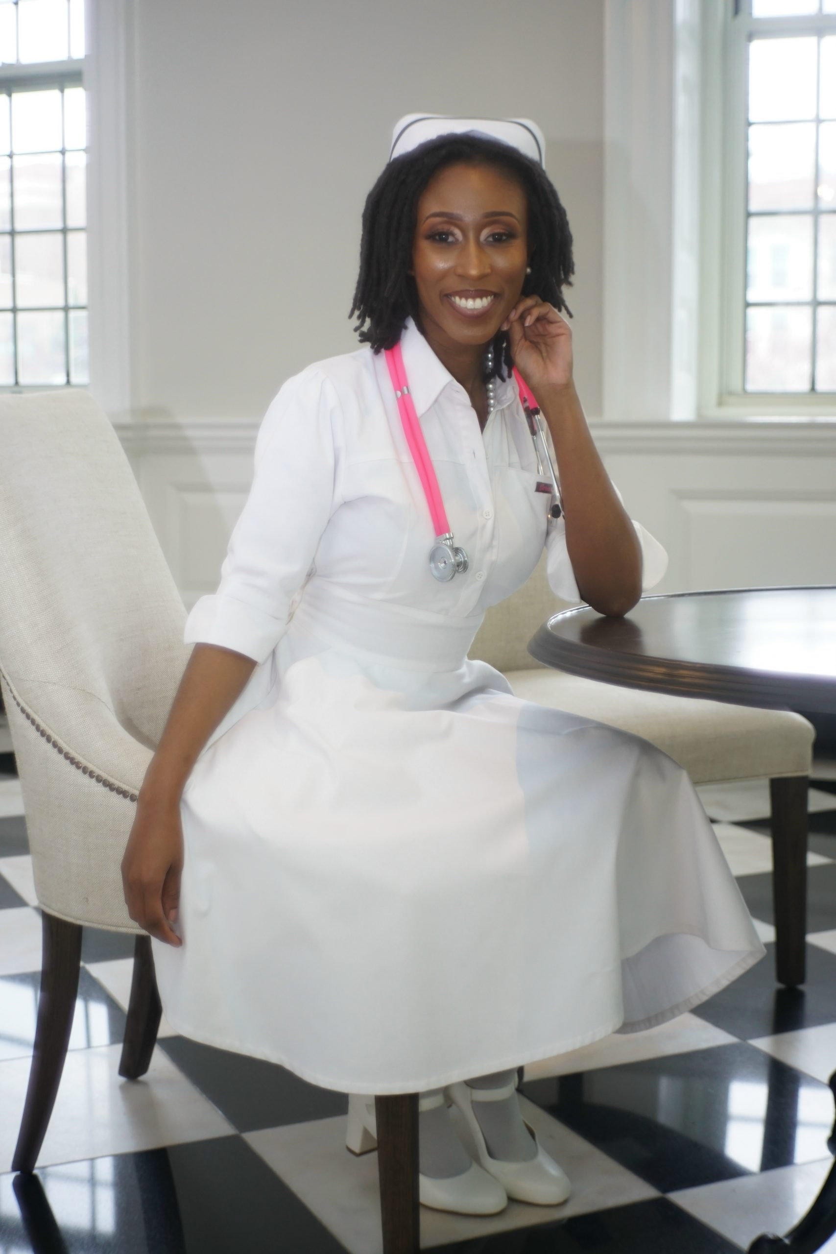 Scrub Dress, LLC Founder Abigail Israel, RN CEO